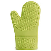 Tesco Waterproof Silicone Oven Glove, Lime