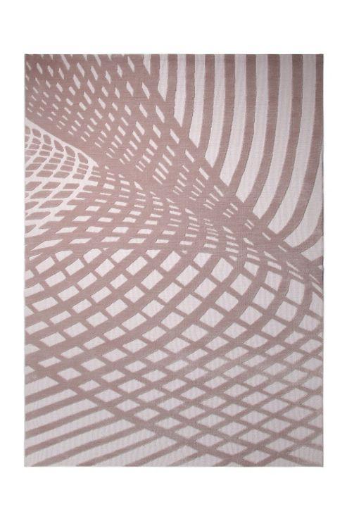 Esprit Vector Beige Contemporary Rectangular Rug