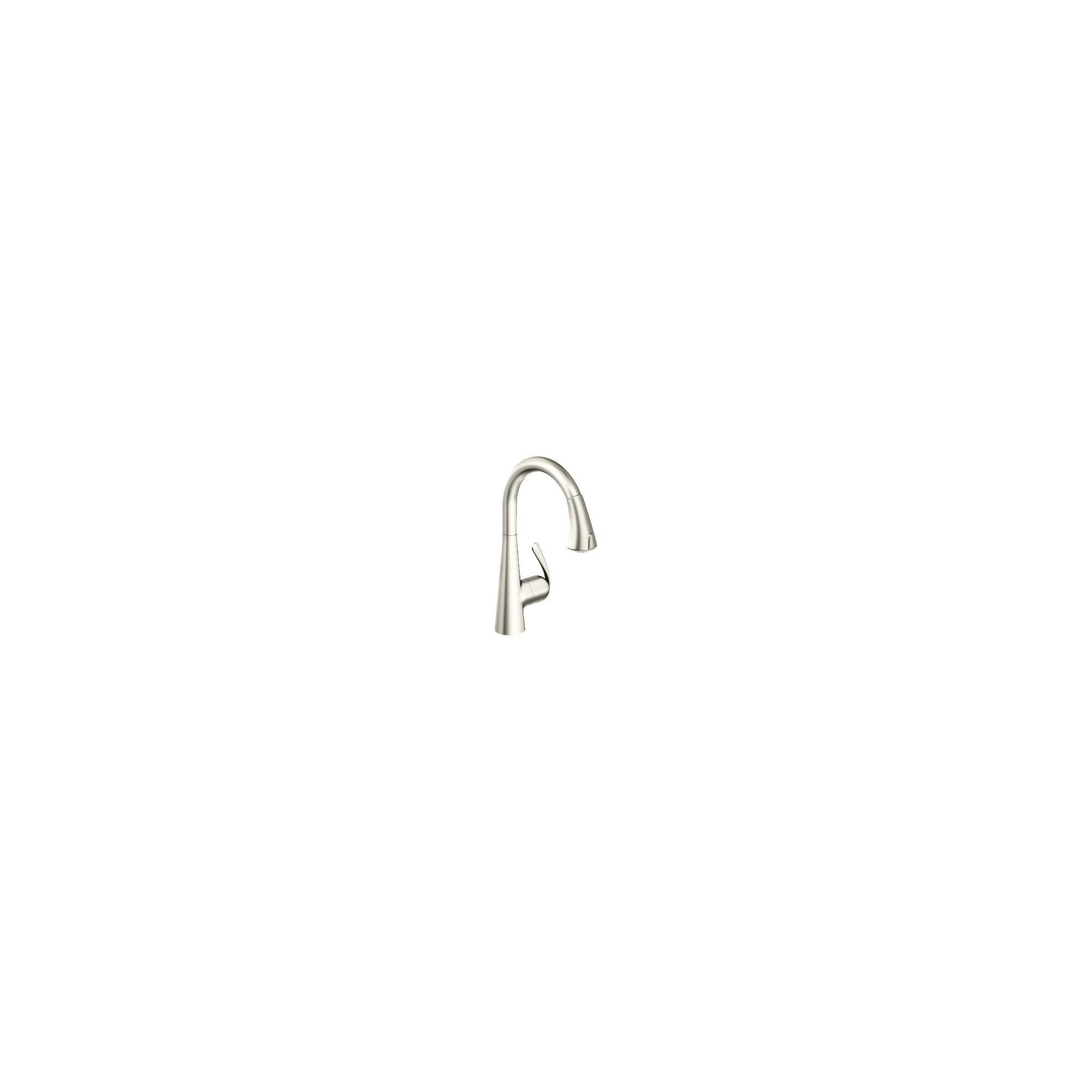 Grohe Zedra Mono Sink Mixer Tap, Single Handle, RealSteel at Tescos Direct