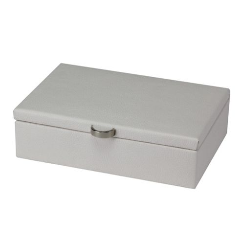 Boutique Small Jewellery Box - White
