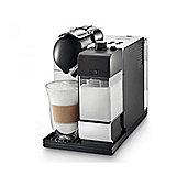 Delonghi EN520W Lattissima + Nespresso System Coffee Maker in Black & White