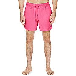 F&F Short Length Swim Shorts M Bright Pink