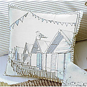 Dreams n Drapes Falmouth Cushion Cover - Blue 43x43cm