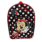 Disney Minnie Mouse Polka Dot Arch Pocket Backpack