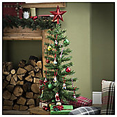 Tesco Green Christmas Tree, 3ft