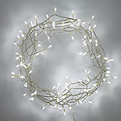 100 White LED Indoor Fairy Lights
