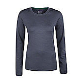 Panna Womens Long Sleeved T-Shirt - Grey - 6