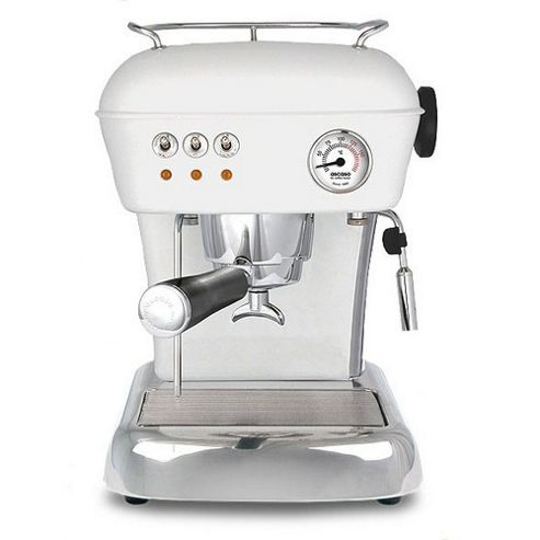 Ascaso Dream Versatile Espresso Coffee Machine in Cloud White