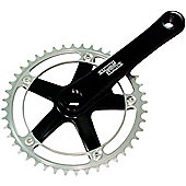 Sturmey-Archer FCT Single Chainset: Black.