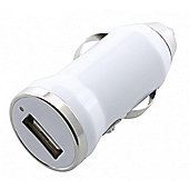 Single USB In-Car Charger 2.1A Bulk