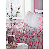 Pied A Terre Elodie Floral Grey King Duvet Cover