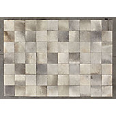 Angelo Starless Medium Gray Skin Rug - 300cm x 200cm (9 ft 10 in x 6 ft 6.5 in)