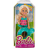 """Chelsea w/ Turtle Inner Tube: Barbie Chelsea & Friends Pool Collection 5.25"""" Doll Figure"""