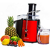 Andrew James Power Juicer 850 Watt in Red