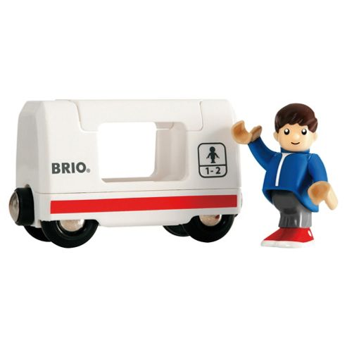 Brio Travel Wagon & Boy, wooden toy