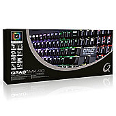 QPAD MK-90 RGB Pro Gaming MX Red Mechanical Keyboard