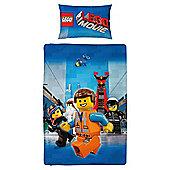 Lego Movie Duvet Set Multicoloured, Single