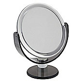 Famego 5x Magnification Pedestal Mirror in Smoke