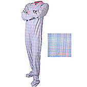 All in One Romper Suits for Adults - Blue and Pink (Medium)