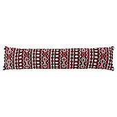 Scandi Snow Flake Draught Excluder