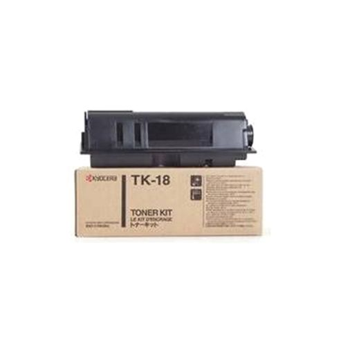 Kyocera TK-18 Toner Cartridge (Yield 7200 Pages) for FS-1018MFP/FS-1020D/FS-1118MFP