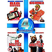 Big Momma's House 1-2 & Dr. Dolittle 1-2 Four Pack (DVD Boxset)