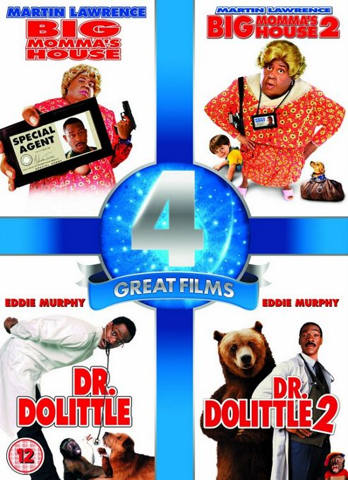 Big Momma'S House 1-2 / Dr. Dolittle 1-2 Four Pack (DVD Boxset)
