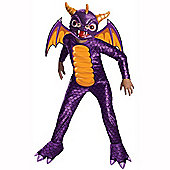 Skylanders Spyro Deluxe - Child Costume 8-9 years