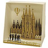 Sagrada Familia Paper Building Sets - Construction