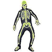 Graveyard Bones - Adult Costume Size: 42-44