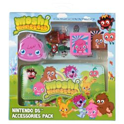 MOSHI MONSTERS 7-in-1 Accessory Pack, Moshi Girls Pack (Nintendo 3DS, DSi, DS Lite, DS)