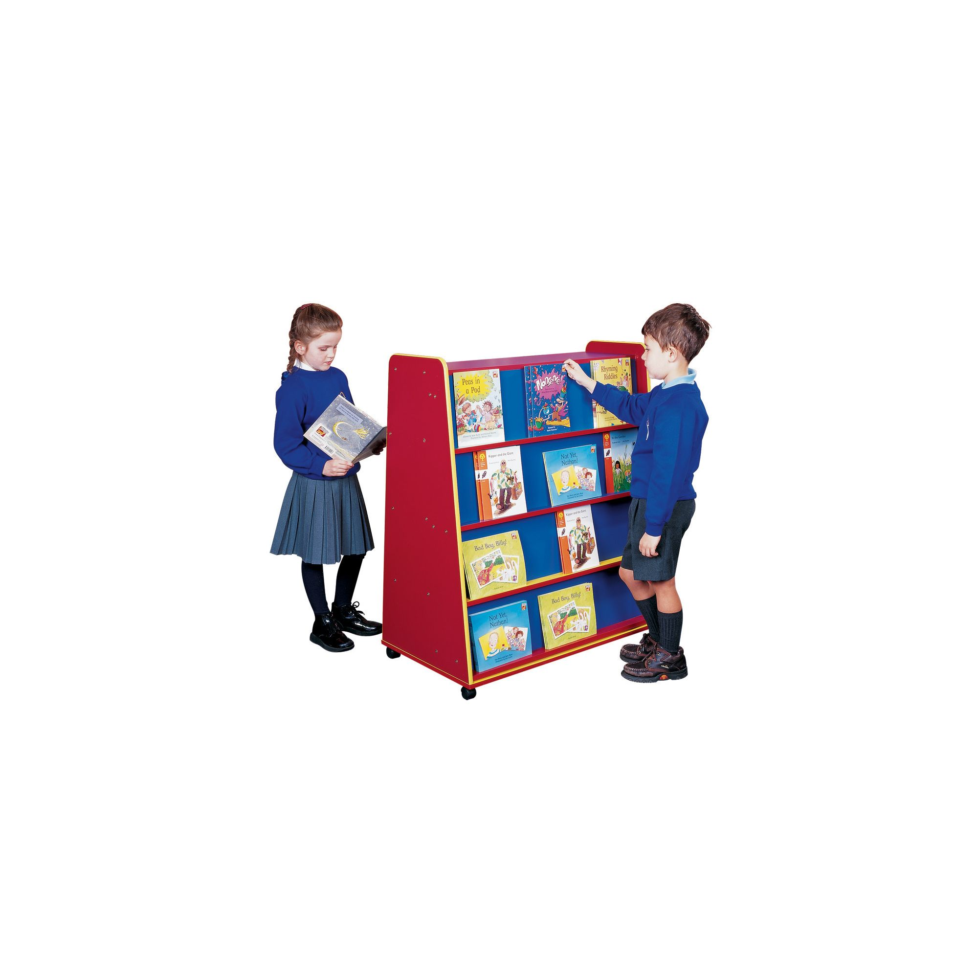 Liberty House Toys Primary Coloured Mobile Book Unit at Tescos Direct