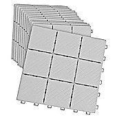 Patio Pavers (Pack of 12) - Grey