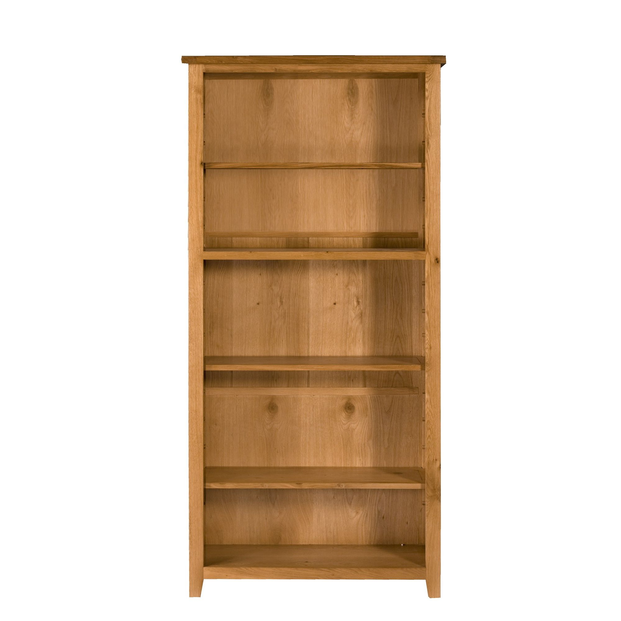 Elements Brunswick Dining Large Bookcase in Warm Lacquer