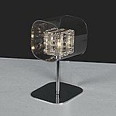 Impex Lighting Avignon 1 Light Table Lamp in Glass