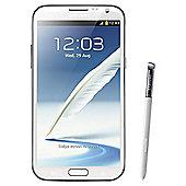 SIM Free Unlocked Samsung Galaxy Note 2 White