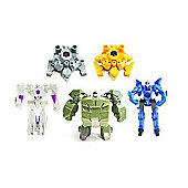 Transformers Prime Transforming Figures Part 2 Blind Bags 5 Random Bags Supplied 5 Item Bundle