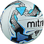 Mitre Malmo Training Football - White/Navy - White