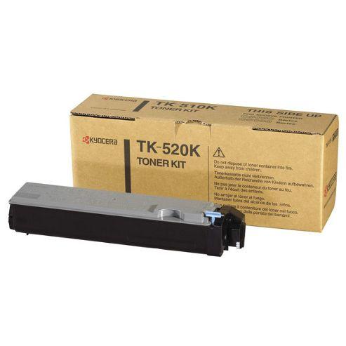 Kyocera TK-520K Black (Yield 6000 Pages) Toner Cartridge for FS-C5025N/5015N Printers