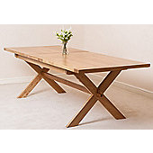 Vermont Solid Oak Extending 200 - 240 cm Dining Table
