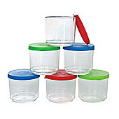 Gowi Toys 428-07 Measuring Cup with Cover (Pack of 3 - Colours Vary)