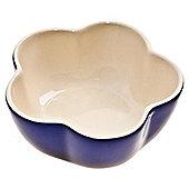 Denby Imperial 0.4 Litre Blue Ceramic Flower Ramekin