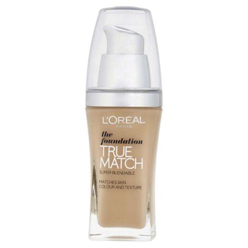 L'Oréal True Match Foundation W3 Golden Beige 30ml