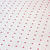 Children's Cotton Bed Sheet - Pink Spots