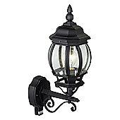 Brilliant Istria Outdoor Wall Lantern - Black
