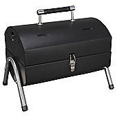 Tesco Portable Twin Grill Barrel BBQ