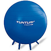 Tunturi Seated Exercise Ball with Stands - 65cm