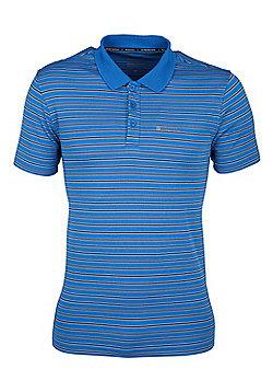 Mountain Warehouse Raja Mens Polo Shirt - Blue