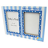 Baby Boys First Hand Print & Frame Set