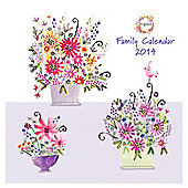 Daisy Patch 2014 Square Calendar